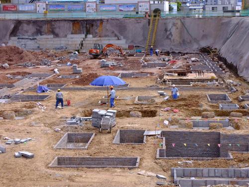 地基承台砖胎膜解决方案